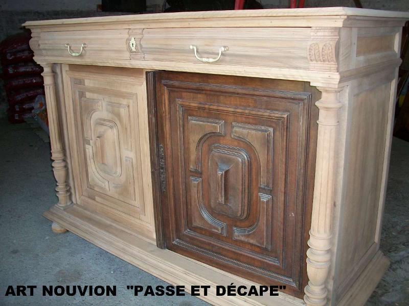 Relooking de meuble - Décapage écologique
