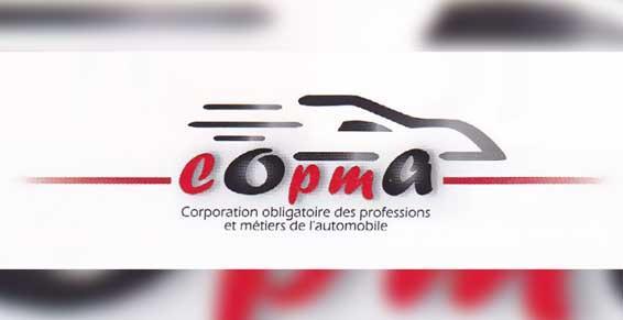Carrosserie Muller-Wachenheim. Logo Copma.