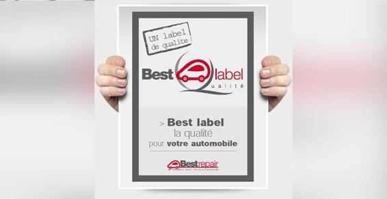 Carrosserie Muller-Wachenheim. Affiche Best label.