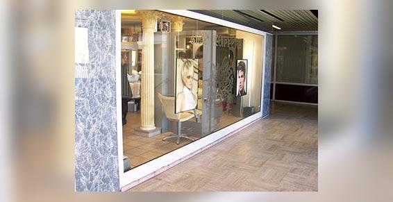 coiffeurs - vue extérieure du salon
