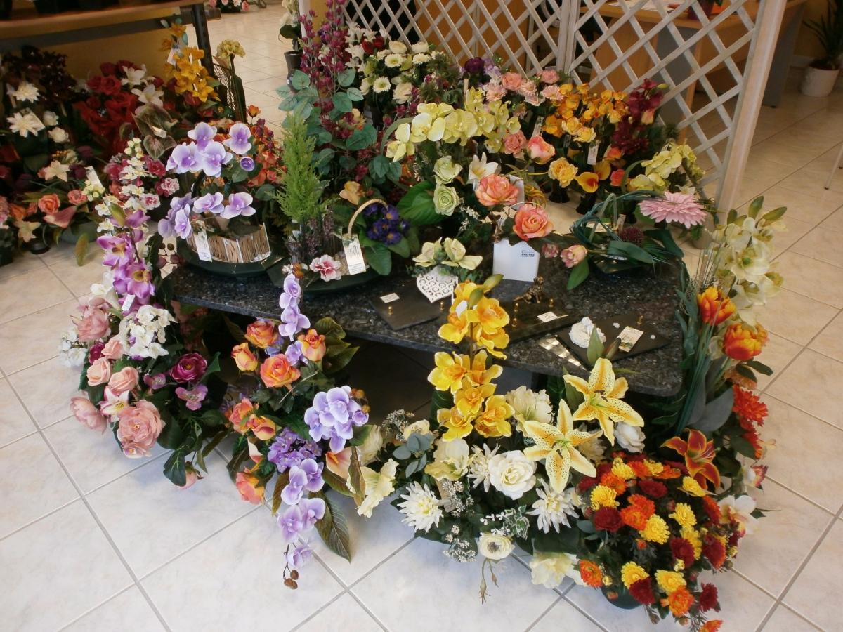 Compositions fleurs artificielles