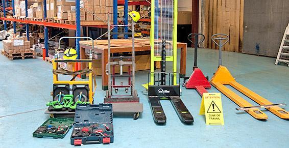 Des outils spécifiques pour des manutentions spécifiques.