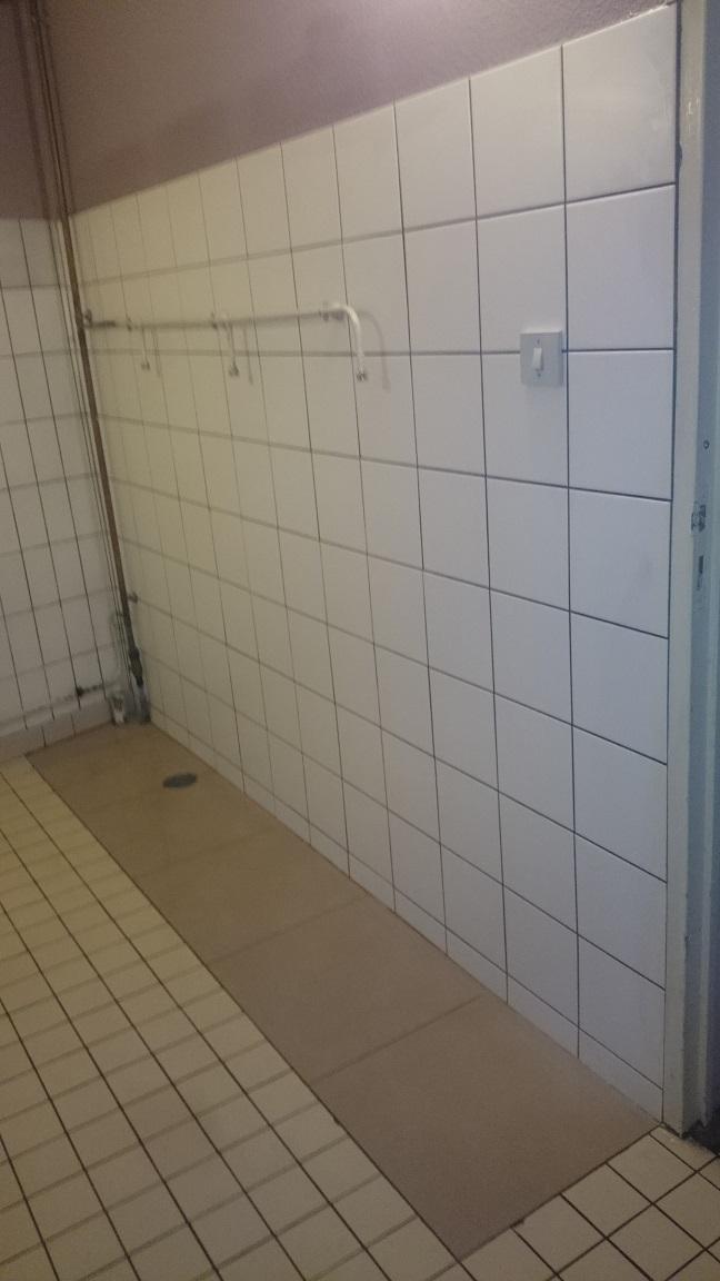 Remplacement d'urinoirs hale des 5 Fontaines