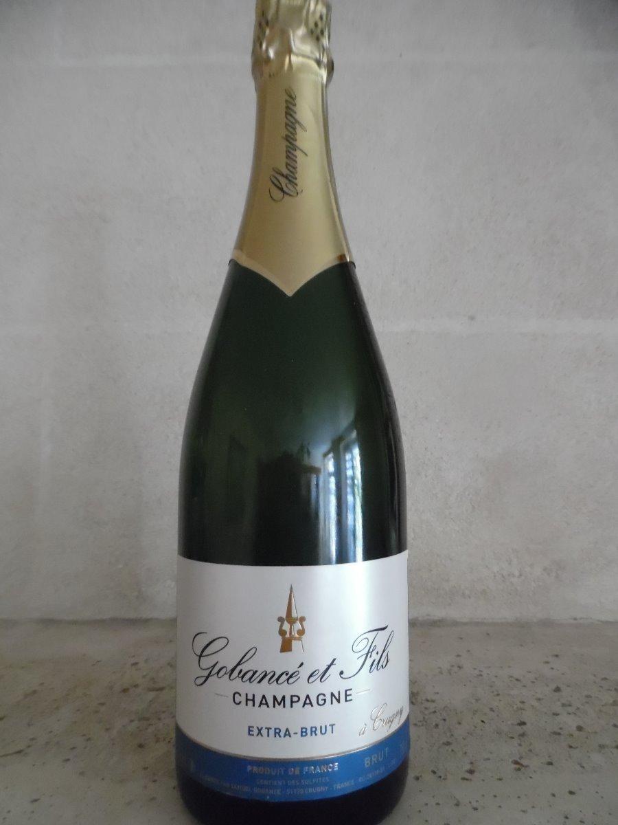 Champagne Extra Brut la bouteille