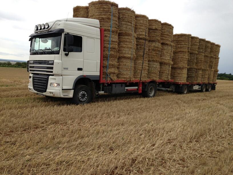 Brevon Transports en Bourgogne transport de paille