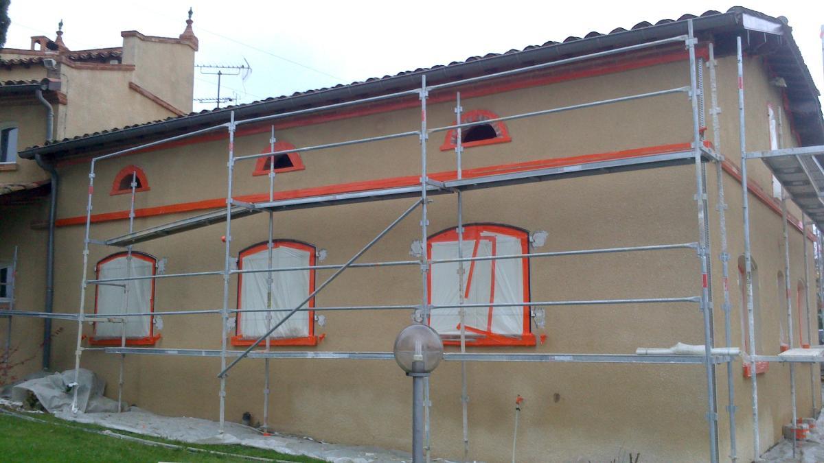 Ravalement  façade près de Montauban Tarn et Garonne (82)