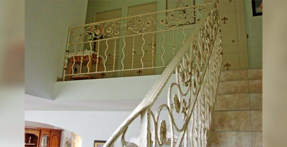 Ferronnerie Van Hove Bruno - Descentes d'escaliers en fer