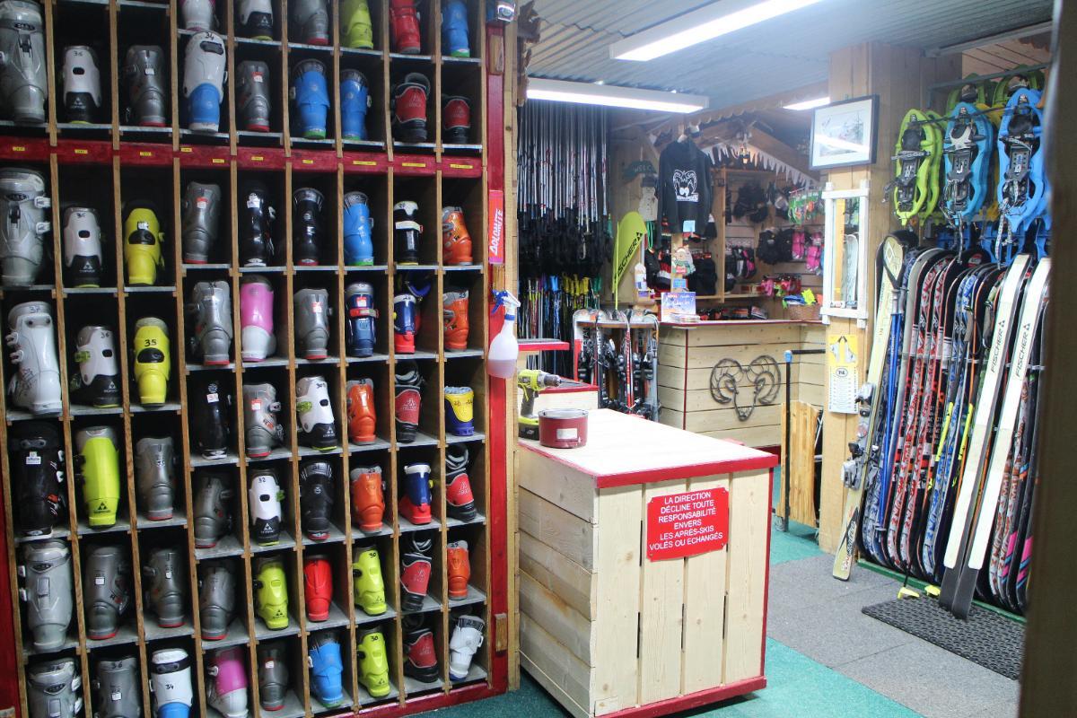Location de chaussure de ski Magasin Le mouflon Ariege 09