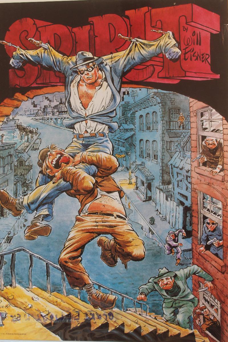 Affiches Comics : the spirit : 25 euros