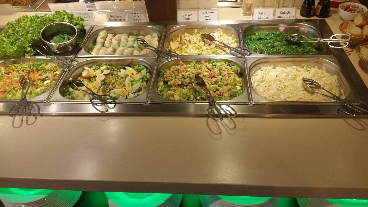 Restaurant Let's Wok - buffet à volonté