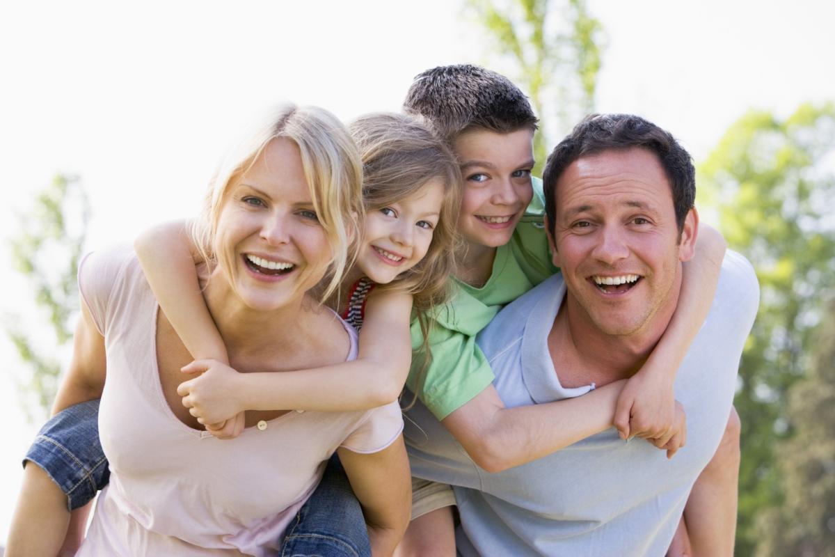 Famille protégée = famille-heureuse