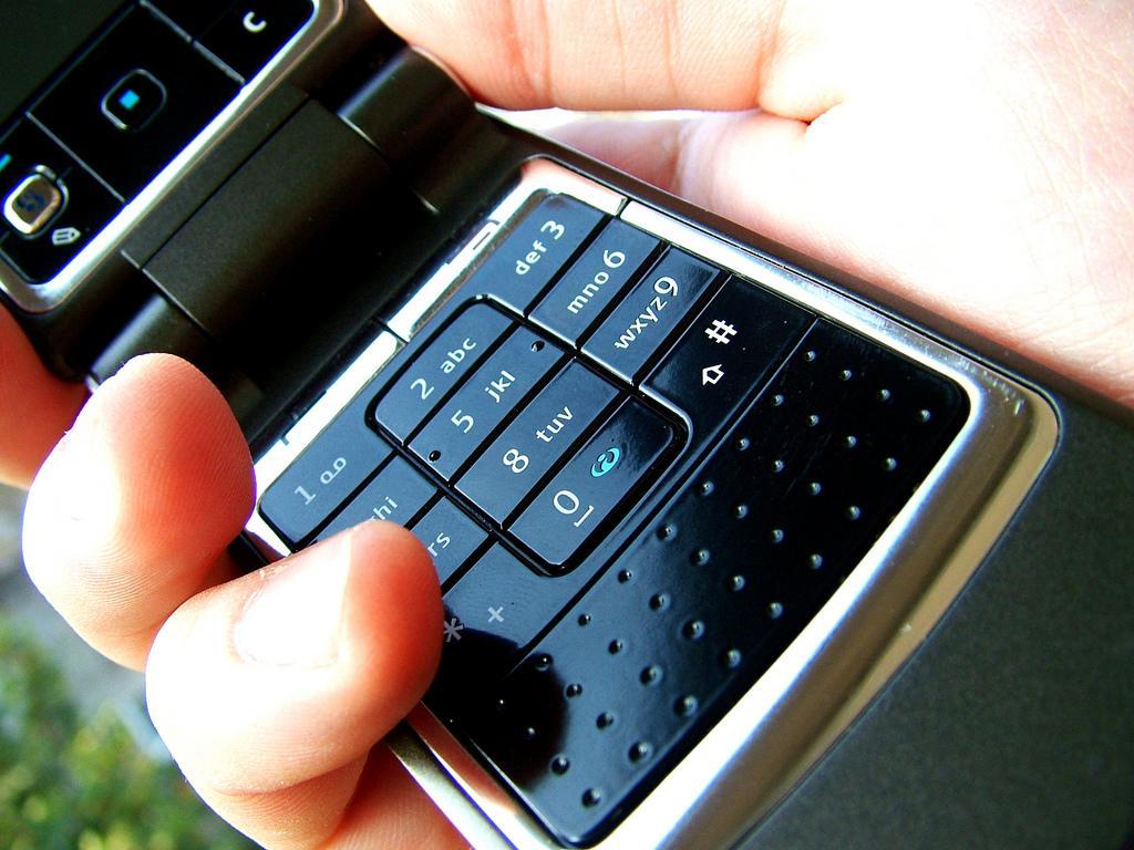 Appel sur portable ou téléphone fixe