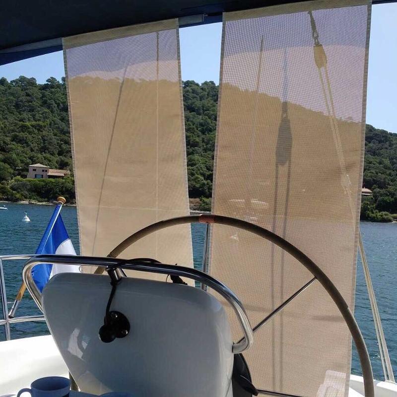 Voiles d'ombrages pour vos bateaux yachts sur mesure