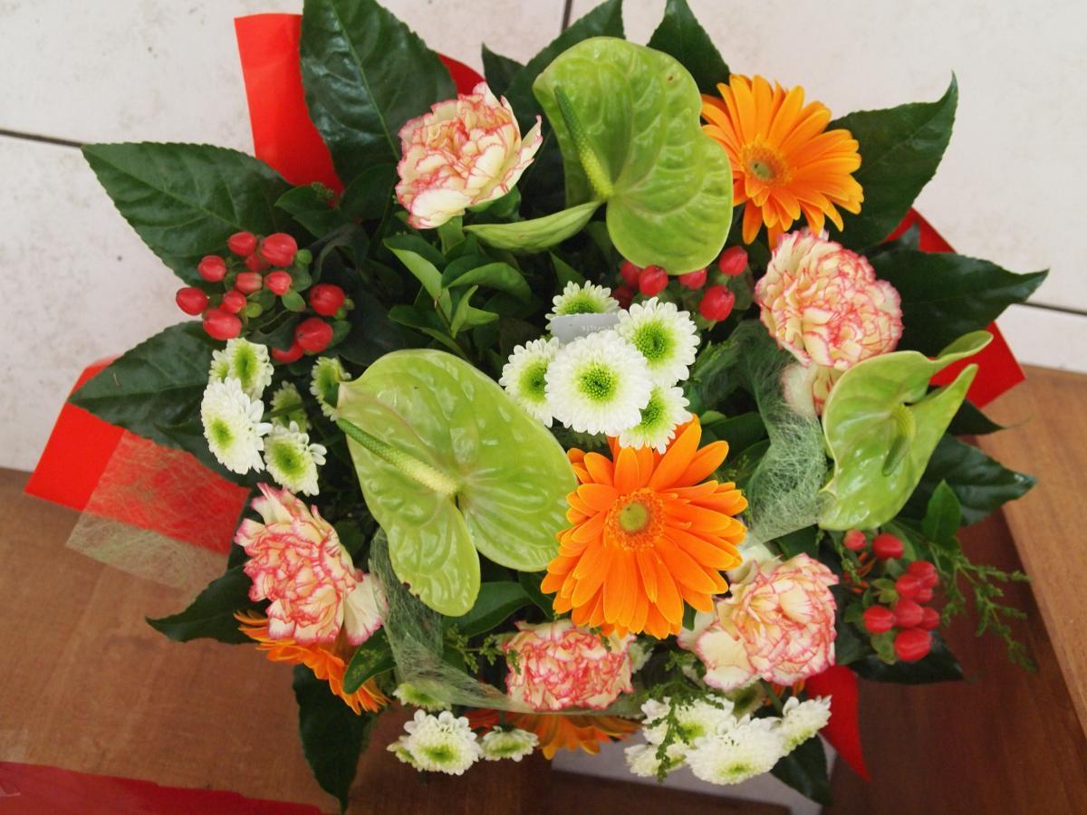 Bouquet rond N° 3 : 38€