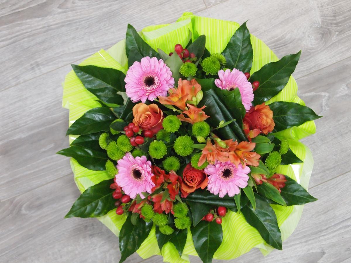 Bouquet rond  N° 1 : 28€