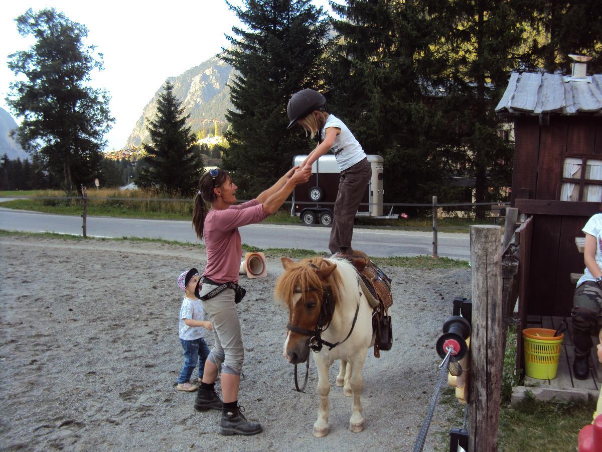 Cours d'équitation Le Ranch de L'Ancolie en Savoie (73