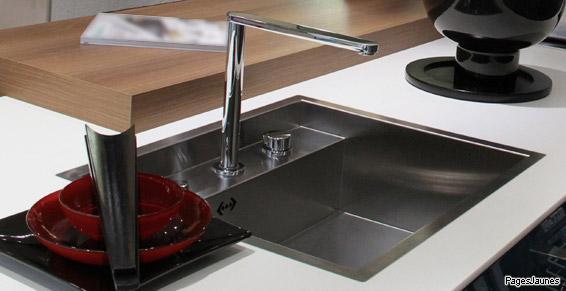 Installation de robinetterie de cuisine à Mâcon