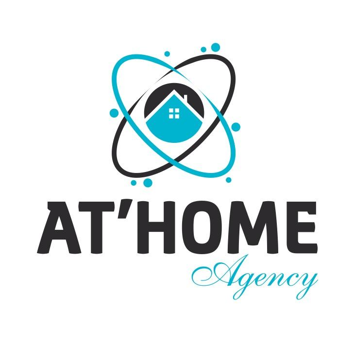 Logo AT'HOME Agency
