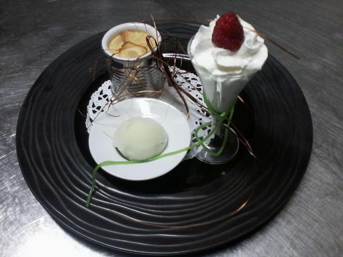 Repas rafinés dans le restaurant l'Auberge des blés d'or de Ruaudin (72)