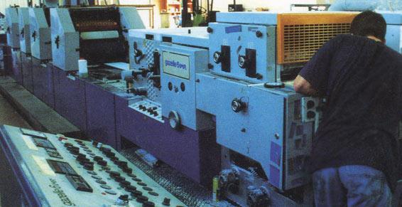 imprimerie travaux graphiques - réglages de l'imprimante