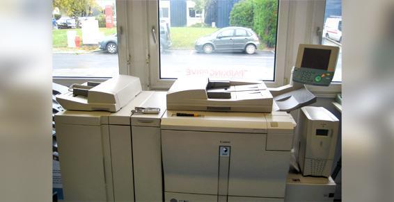 Photocopie reprographie - Impression en blanc et noir