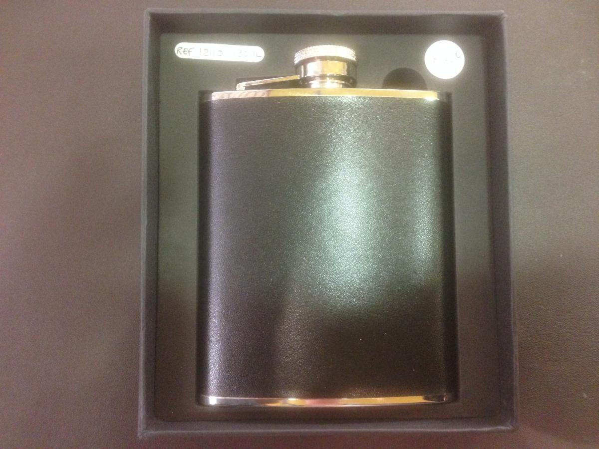 Flasque cuir 180 ml