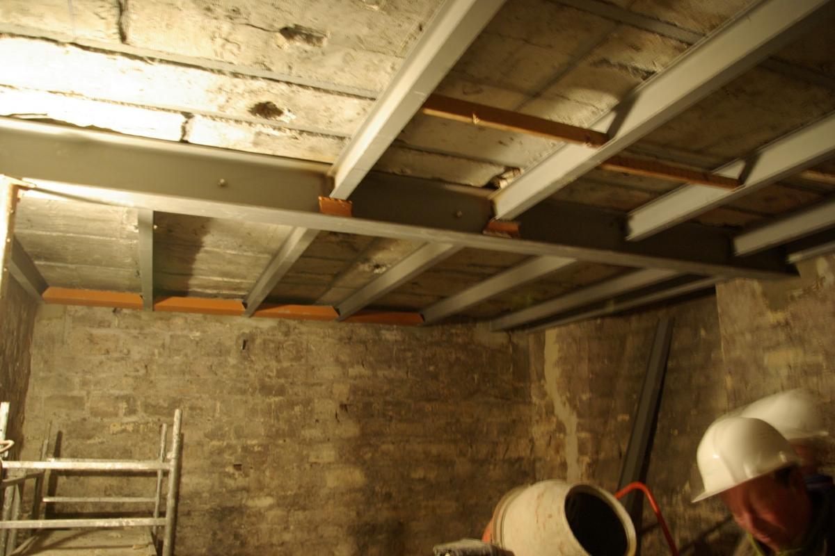 Entreprise Meira - 93 Renfort structurel - plancher