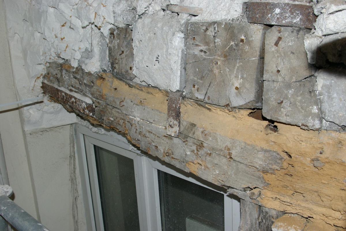 Entreprise Meira - Montreuil sous boisRenfort structurel - pan de bois