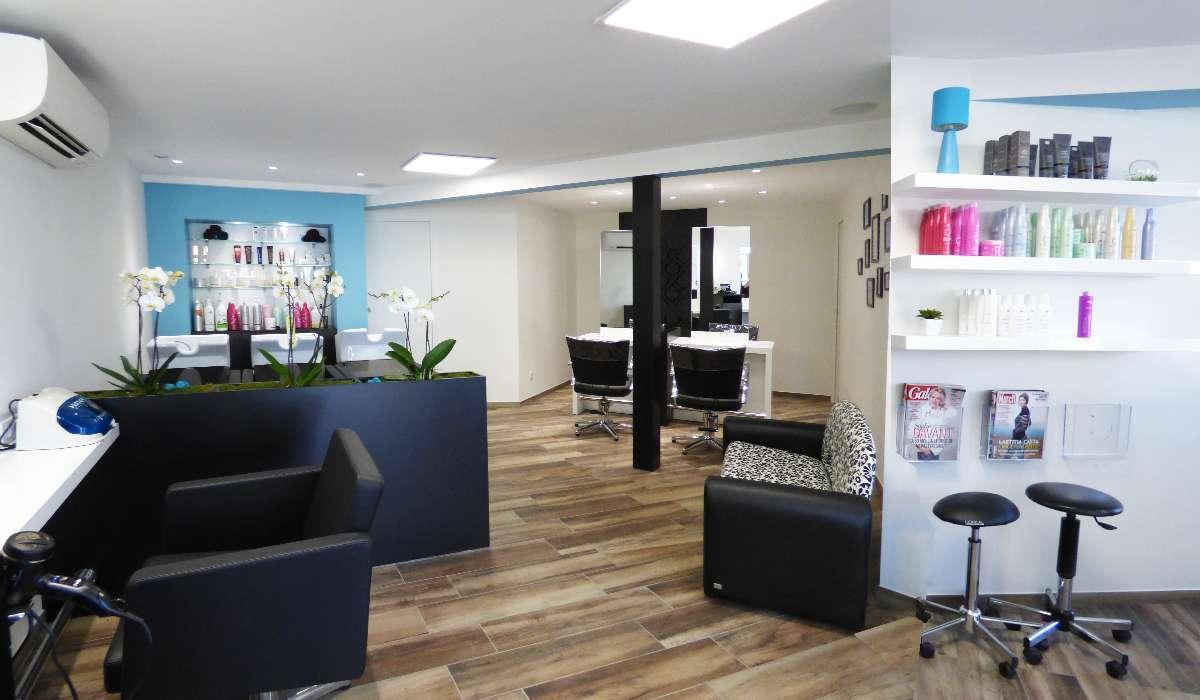 Un salon  moderne et tendance Infini Coiff' Christine Pereira à Caussade