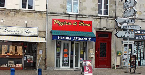 Pizzeria Di Roma - Accès personnes à mobilité réduite