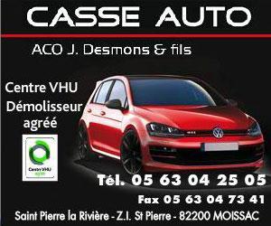 Casse Auto ACO Moissac