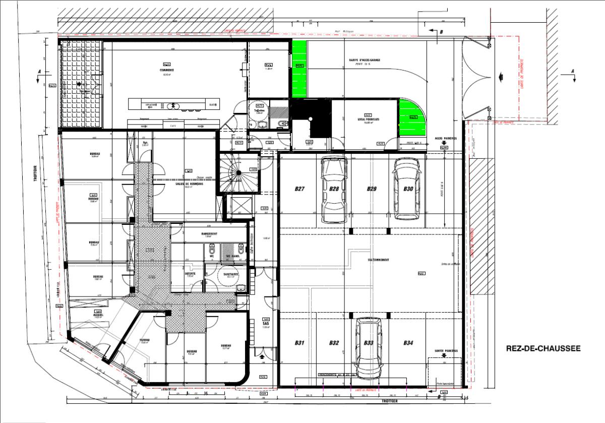 Plan immeuble dans les Bouches du Rhône