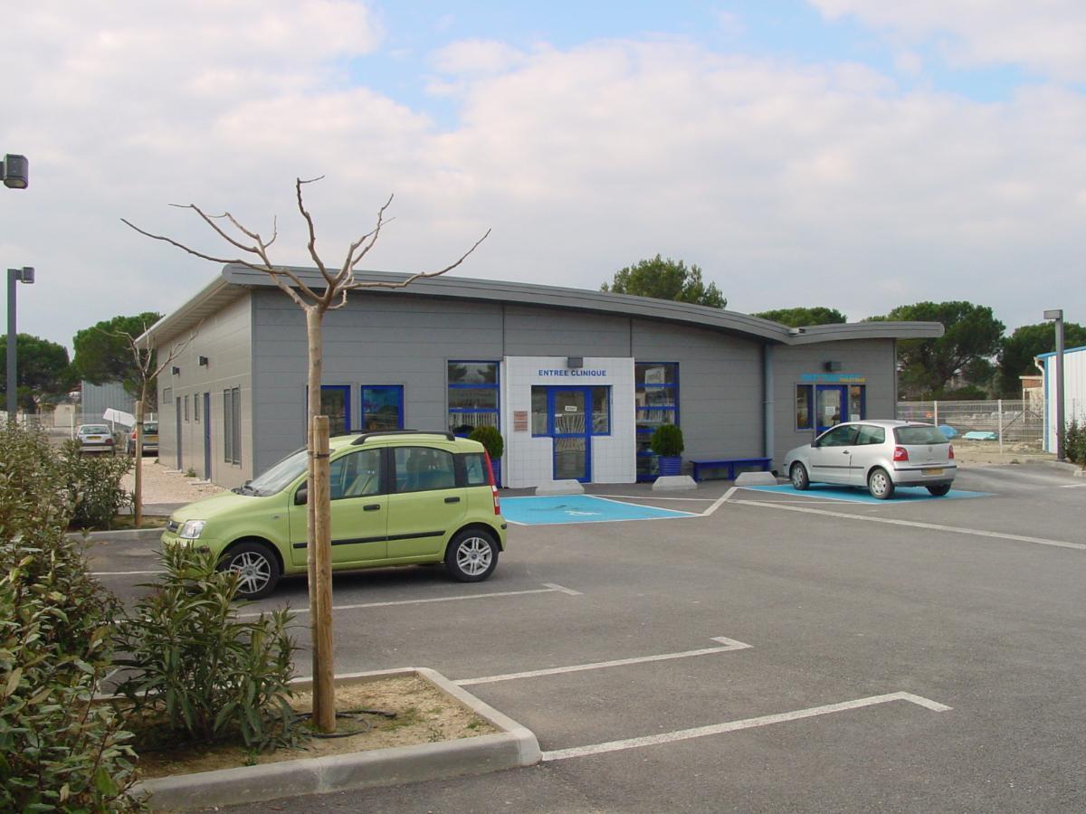 Clinique Vétérinaire KRIEF à Lançon de Provence surface utile de 275m2