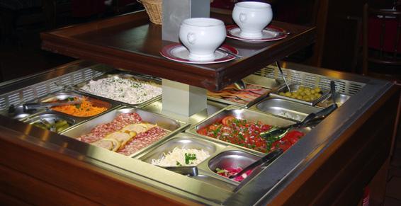 La Taverne à Strasbourg - Le buffet froid