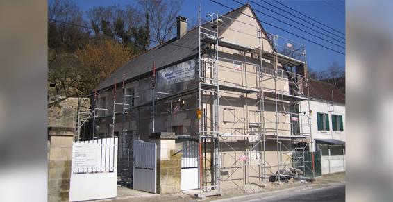 Rénovation immobilière - Briault Maçonnerie