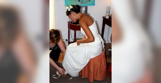 Lisatoki peut créer votre robe de mariée à Saint-Jean-de-Luz