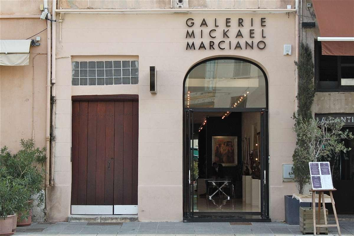 Façade Galerie Mickael Marciano Jacques Daniel Salmona Architecte à Marseille