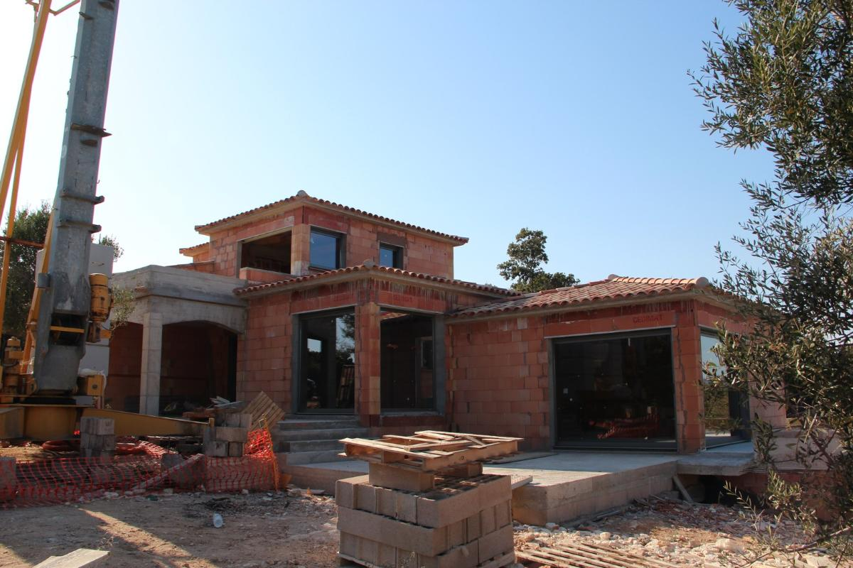 VILLA EN CONSTRUCTION