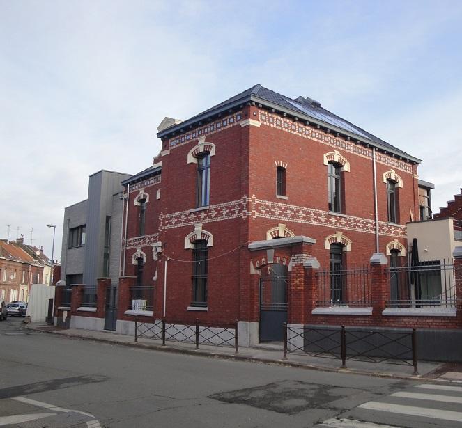 Ravalement de façades métropole Lilloise