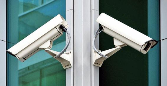 Ancel Philippe. Caméras de surveillance.