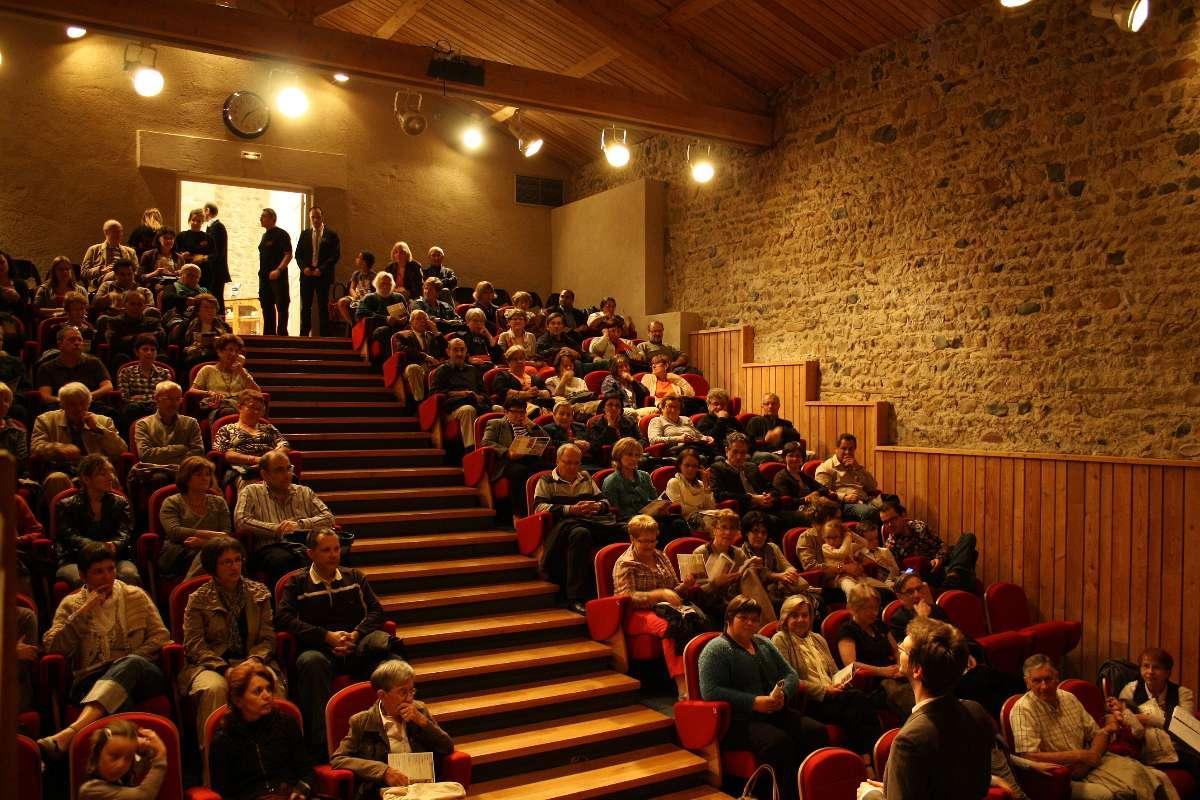 Auditorium 100 places Château de Bouthéon Loire