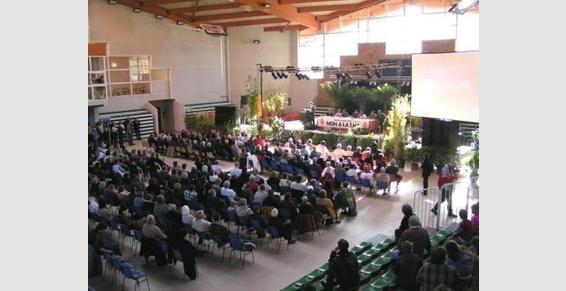 séminaire - conférence dans la salle de sports
