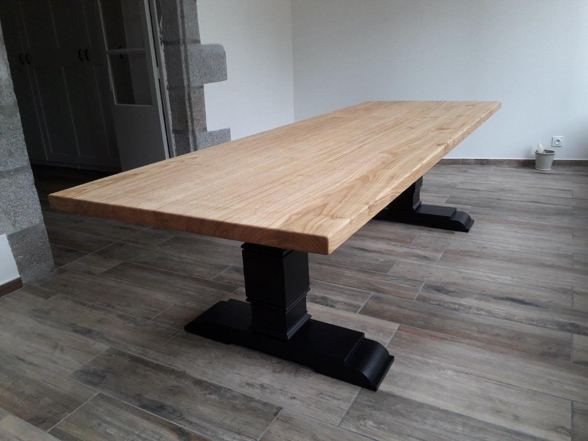 table en chataignier