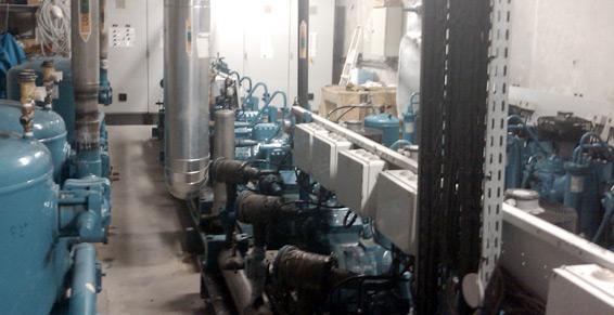 Salles des machines - Lamentin