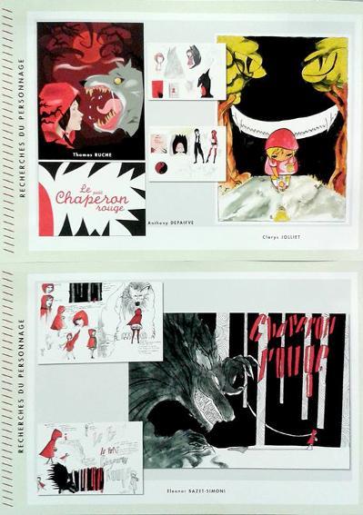 Hergos design graphique-projet 2013 ChaperonRouge