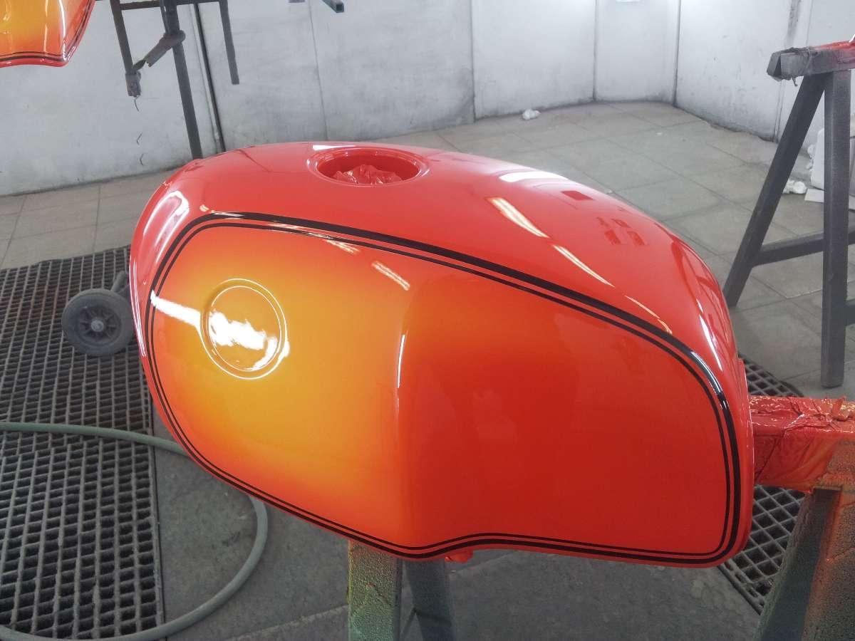 Peinture motocycle