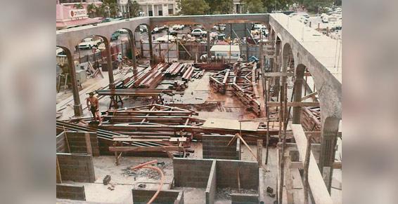 Le marché de la Darse 1983