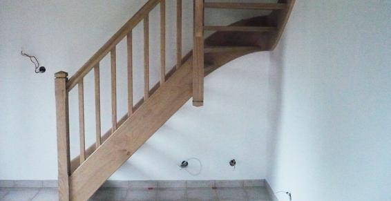 Escaliers conçus et posés en Normandie