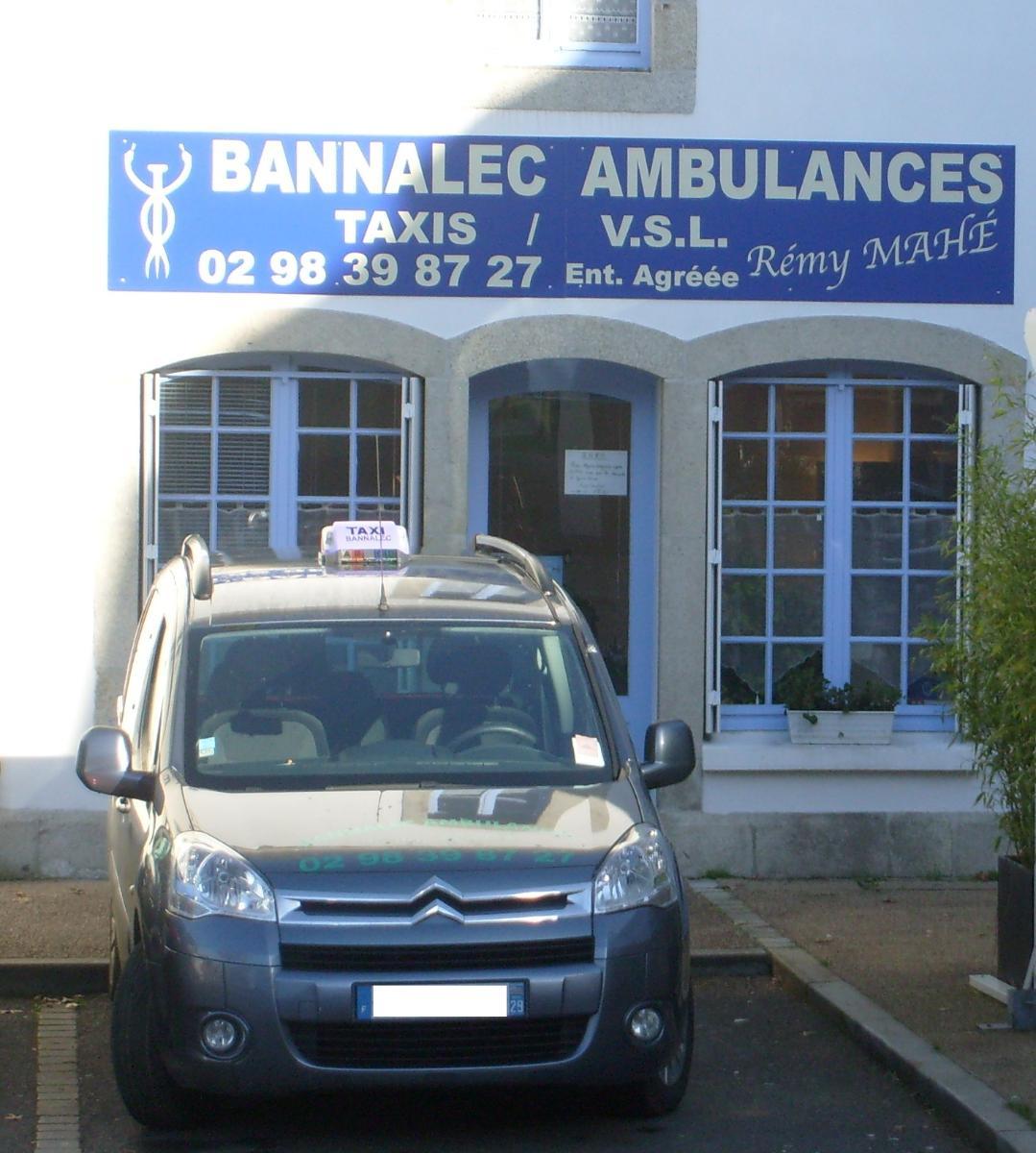 Sarl Bannalec Ambulaces, entreprise familiale à Bannalec (27)