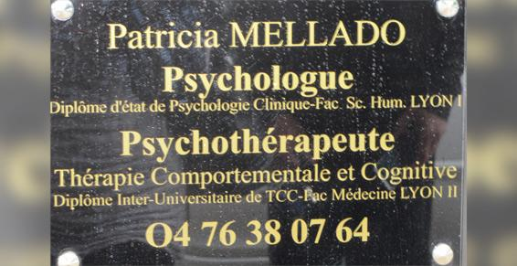 Patricia Mellado à Saint-Marcellin - Psychologues